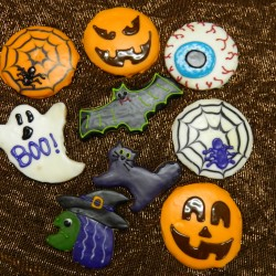 Assorted Halloween Cookies #1