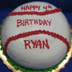 Baseball Cake #13