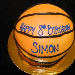 Basketball Cake #4