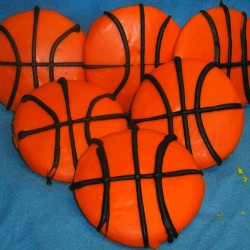 Basketball Cookies #11