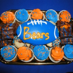 Bears Dessert Party Tray with Cookies Cupcakes and Brownies #9