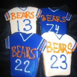 Bears Jersey Cookies #8