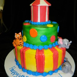 Big Top Tiered Cake #4