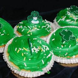 St. Patrick's Cupcakes #5