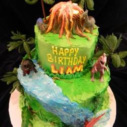 Dinosaur Cake #2