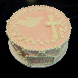 Dove and Cross Cake #3