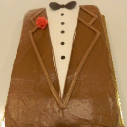 Father's Day Suit Cake