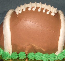 Football Cake #3