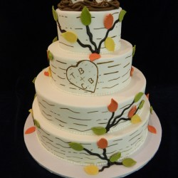 Four Tiered Mr & Mrs Tree Branch