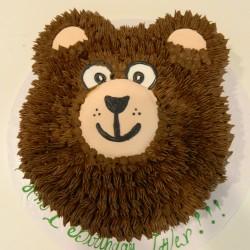 Fuzzy Bear Cake #1