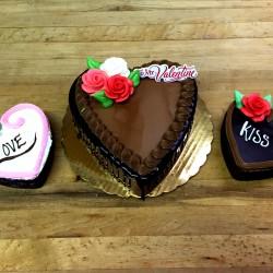 Ganache Heart Cakes #9