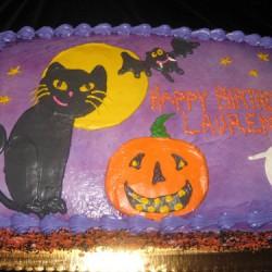 Halloween Cake #6