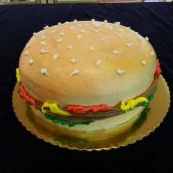 Hamburger Cake #2