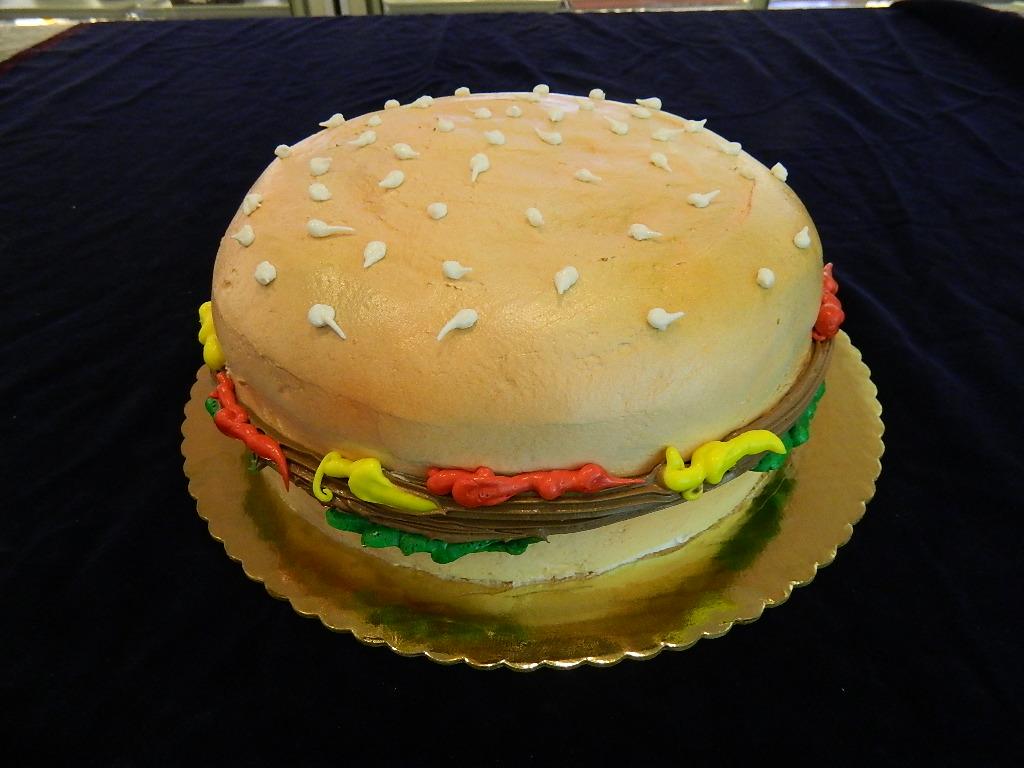 Торт из гамбургеров своими руками 58