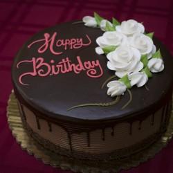 Happy Birthday Ganache Cake #1