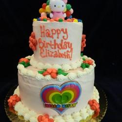 Hello Kitty Tiered Cake #5