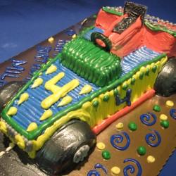 Race Car Cake #3