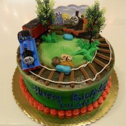 Round Thomas Cake #3