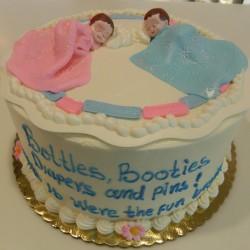 Round Twins Cake #3