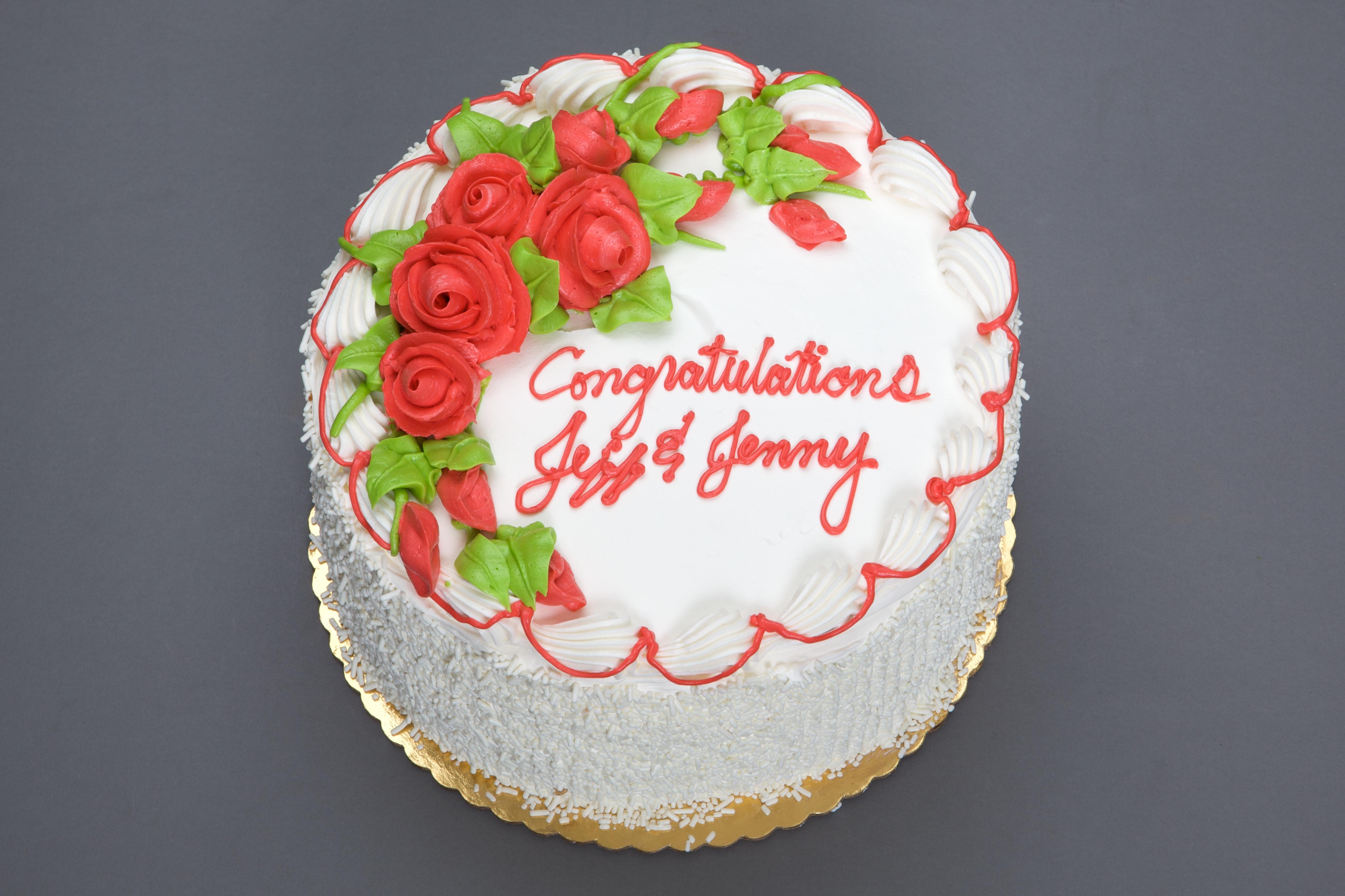 Red Rose Cake Design : Flowers   Dinkel s