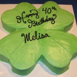 Shamrock Cake #2