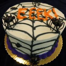 Spider Web Cake #9