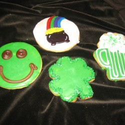 St. Patrick's Day Cookies #1