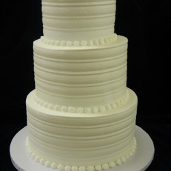 Three Tiered Traditional with Pearls