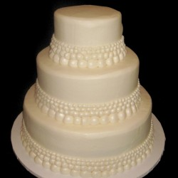 Three Tiered with Pearls