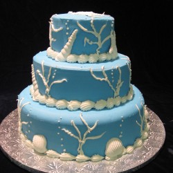 Three Tiered with Sea Theme