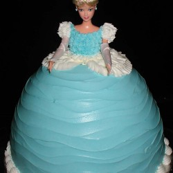 Tiffany Barbie Cake #2