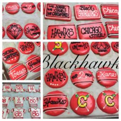 Blackhawks Cookies #21