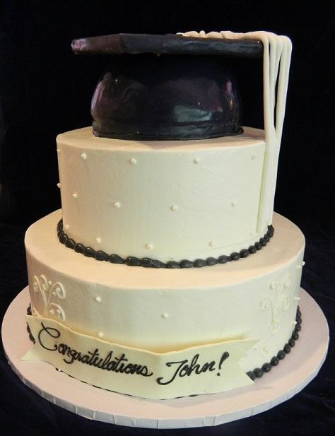 Two Tiered Graduation Cap Hat 9